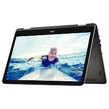 "Buy Dell Inspiron 13 5000 Series Convertible Laptop, Intel Core i7, 8GB RAM, 256GB SSD, 13.3"" Full HD Touch Screen, Grey Online at johnlewis.com"