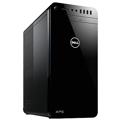 Dell XPS 8920 Desktop PC, Intel Core i5, 8GB RAM, 2TB HDD + 32GB SSD, NVIDIA Force GTX 1060, Black