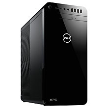 Buy Dell XPS 8920 Desktop PC, Intel Core i5, 8GB RAM, 2TB HDD + 32GB SSD, NVIDIA Force GTX 1060, Black Online at johnlewis.com