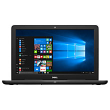 "Buy Dell Inspiron 15 5000 Series Laptop, Intel Core i7, 8GB RAM, 1TB, AMD Radeon R7, 15.6"" Full HD, Black Online at johnlewis.com"