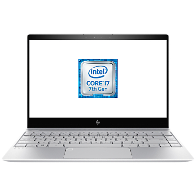 Image of HP ENVY 13-ad015na Laptop, Intel® Core™ i7, 8GB RAM, 360GB SSD, NVIDIA GeForce MX150, 13.3 Full HD Touch Screen, Natural Silver