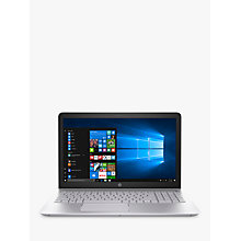 "Buy HP Pavilion 15-cc542na Laptop, Intel Core i3, 8GB, 1TB, 15.6"" Full HD, Mineral Silver Online at johnlewis.com"