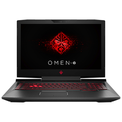 "Image of HP OMEN 17-an012na Laptop, Intel Core i5, 8GB RAM, 1TB, NVIDIA GeForce GTX 1050, 17.3"", Shadow Black"