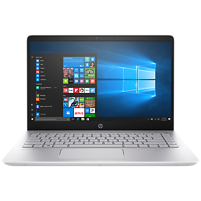 Image of HP Pavilion Pro 14-bf008na Laptop, Intel Core i5, 8GB RAM, 256 GB M.2 SSD, 14, Mineral Silver