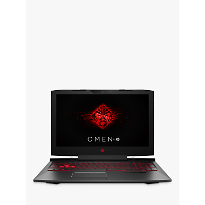 "Image of HP OMEN 15-ce012na Laptop, Intel Core i7, 8GB, 1TB, NVIDIA GeForce GTX 1060, 15.6"", Shadow Black"