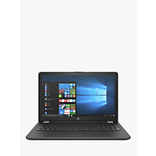 "Buy HP 15-bw024na Laptop, AMD A9, 4GB RAM, 1TB, 15.6"" Full HD, Smoke Grey Online at johnlewis.com"