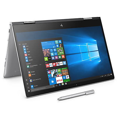 Image of HP Envy x360 15-bp006na Convertible Laptop with Stylus, Intel® Core™ i5, 8GB RAM, 256GB SSD, NVIDIA GeForce 940MX, 15.6 Full HD Touch Screen, Natural Silver
