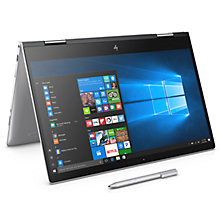 "Buy HP ENVY x360 15-bp006na Convertible Laptop with Stylus, Intel® Core™ i5, 8GB RAM, 256GB SSD, NVIDIA GeForce 940MX, 15.6"" Full HD Touch Screen, Natural Silver Online at johnlewis.com"