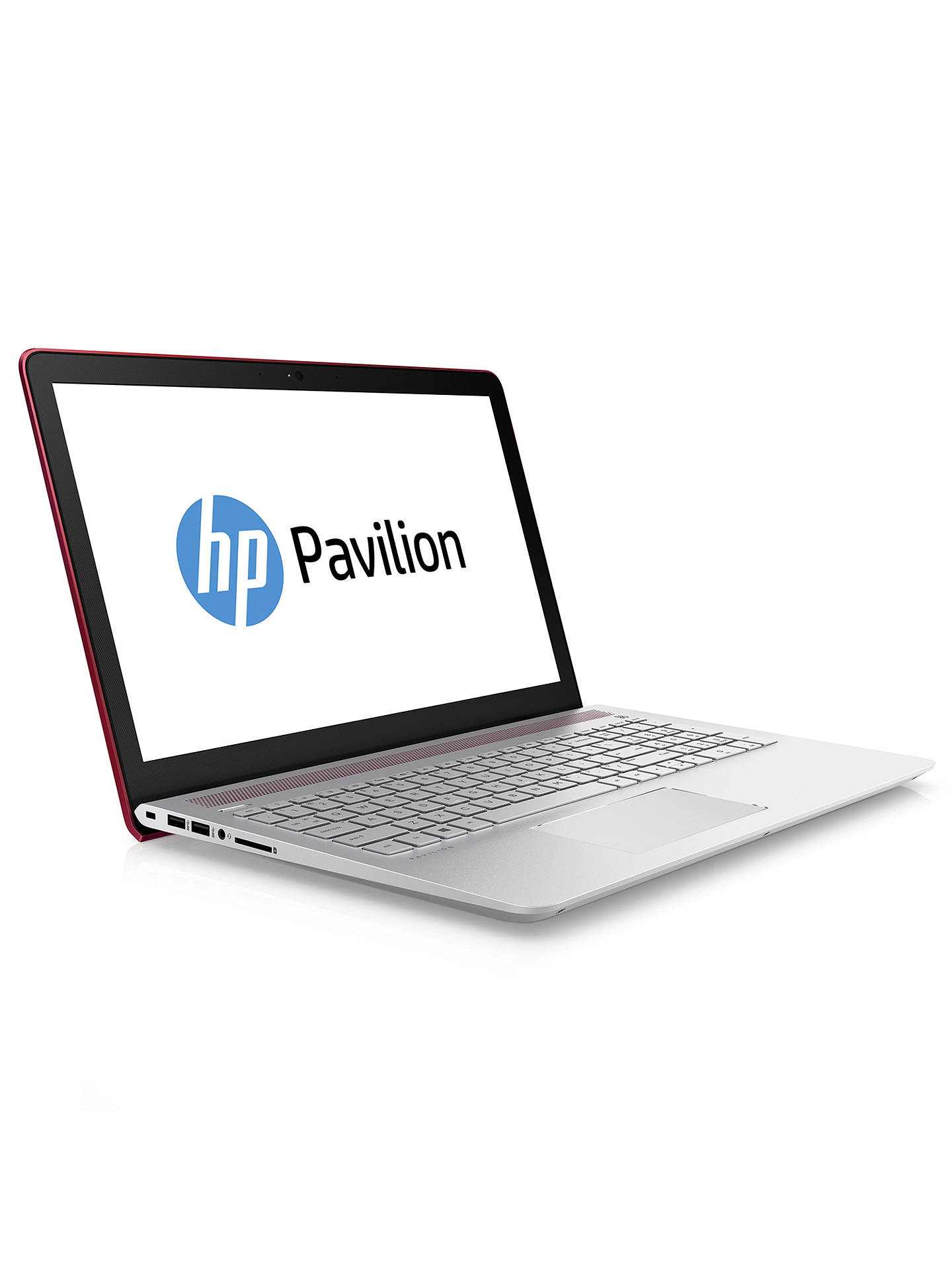 "HP Pavilion 15 Laptop, Intel Pentium, 4GB RAM, 1TB, 15 6"" Full HD, Empress  Red"