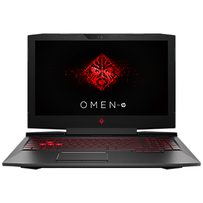 "Image of HP OMEN 15-ce004na Laptop, Intel Core i5, 8GB RAM, 1TB, NVIDIA GeForce GTX 1050, 15.6"", Shadow Black"