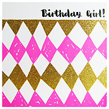 Buy Rachel Ellen Birthday Girl Greeting Card Online at johnlewis.com