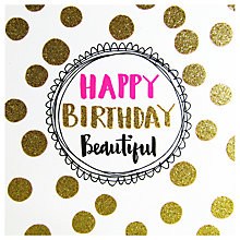 Buy Rachel Ellen Birthday Beautiful Greeting Card Online at johnlewis.com