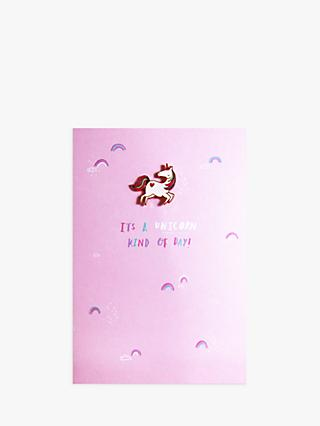 Hotchpotch Open Unicorn Greeting Card