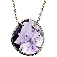 Buy John Lewis Gemstones Small Semi-Precious Stone Pendant Necklace Online at johnlewis.com