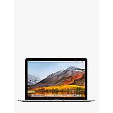 "Buy 2017 Apple MacBook 12"", Intel Core m3, 8GB RAM, 256GB SSD, Intel HD Graphics 615 Online at johnlewis.com"