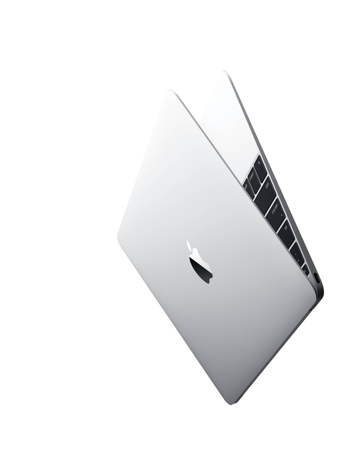 "Buy 2017 Apple MacBook 12"", Intel Core m3, 8GB RAM, 256GB SSD, Intel HD Graphics 615, Silver Online at johnlewis.com"