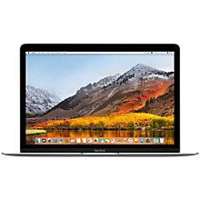"Buy 2017 Apple MacBook 12"", Intel Core i5, 8GB RAM, 512GB SSD, Intel HD Graphics 615 Online at johnlewis.com"