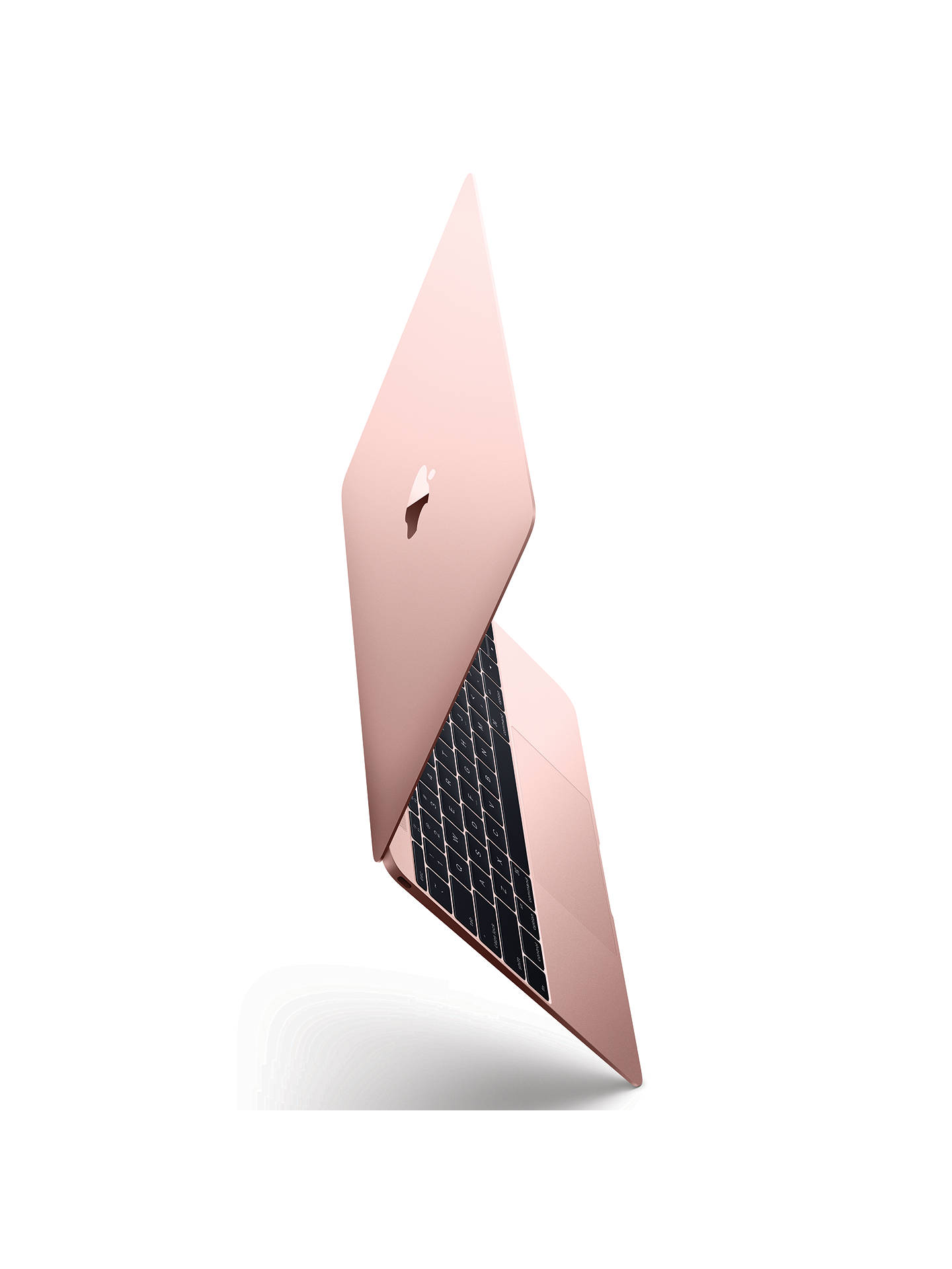 "Buy 2017 Apple MacBook 12"", Intel Core m3, 8GB RAM, 256GB SSD, Intel HD Graphics 615, Rose Gold Online at johnlewis.com"
