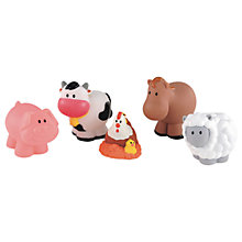 Buy Early Learning Centre HappyLand Farm Animals Set Online at johnlewis.com