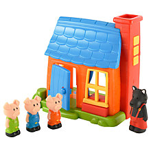 Buy Early Learning Centre HappyLand Three Little Pigs Play Set Online at johnlewis.com