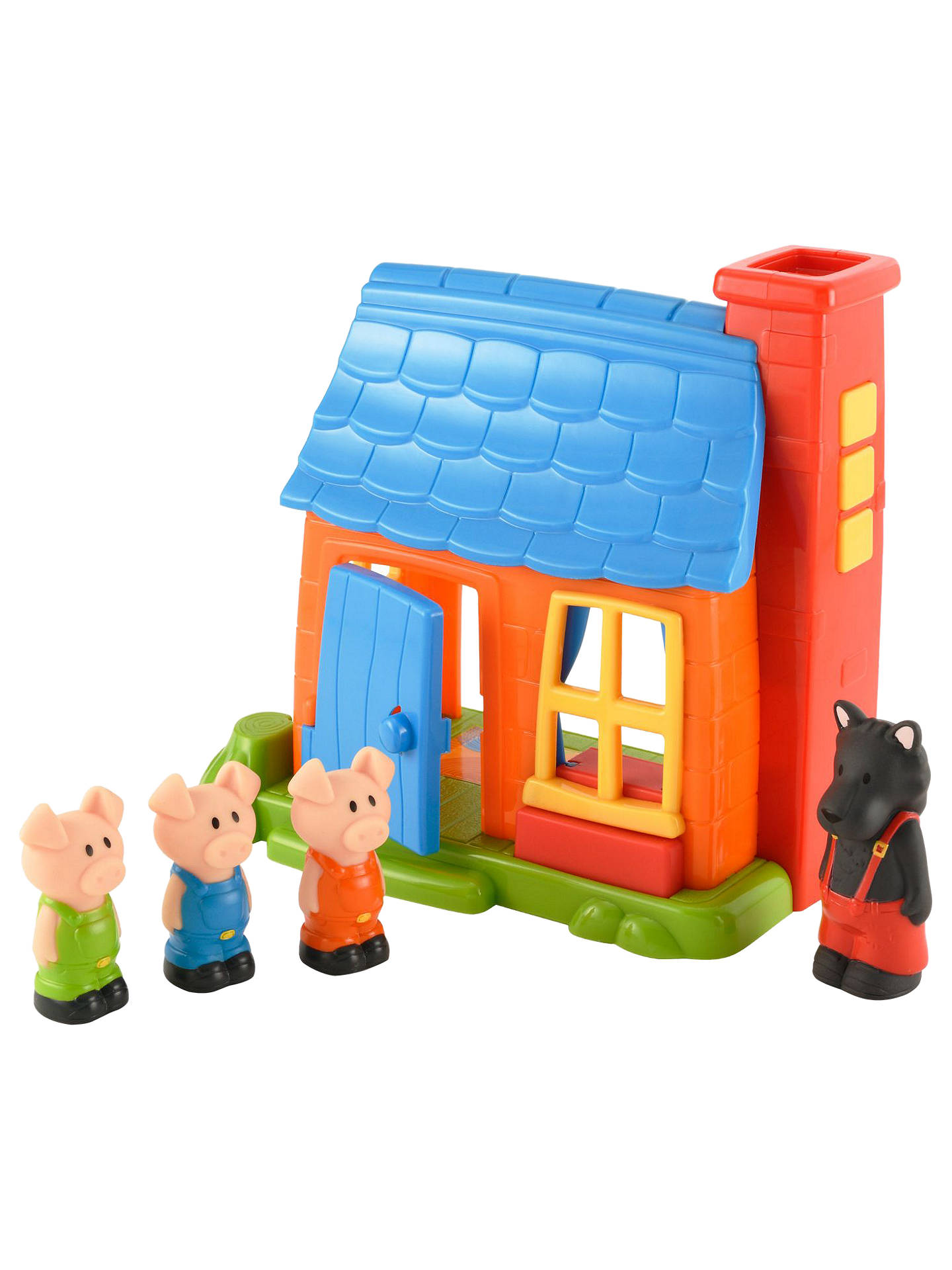 Early Learning Centre HappyLand Three Little Pigs Play Set ...