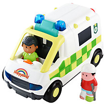 Buy Early Learning Centre HappyLand Ambulance Play Set Online at johnlewis.com