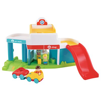 Early learning centre happyland super sounds garage set for Garage happy car