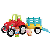 Buy Early Learning Centre HappyLand Tractor Set Online at johnlewis.com