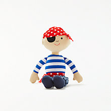 Buy John Lewis Pirate Rag Doll Online at johnlewis.com