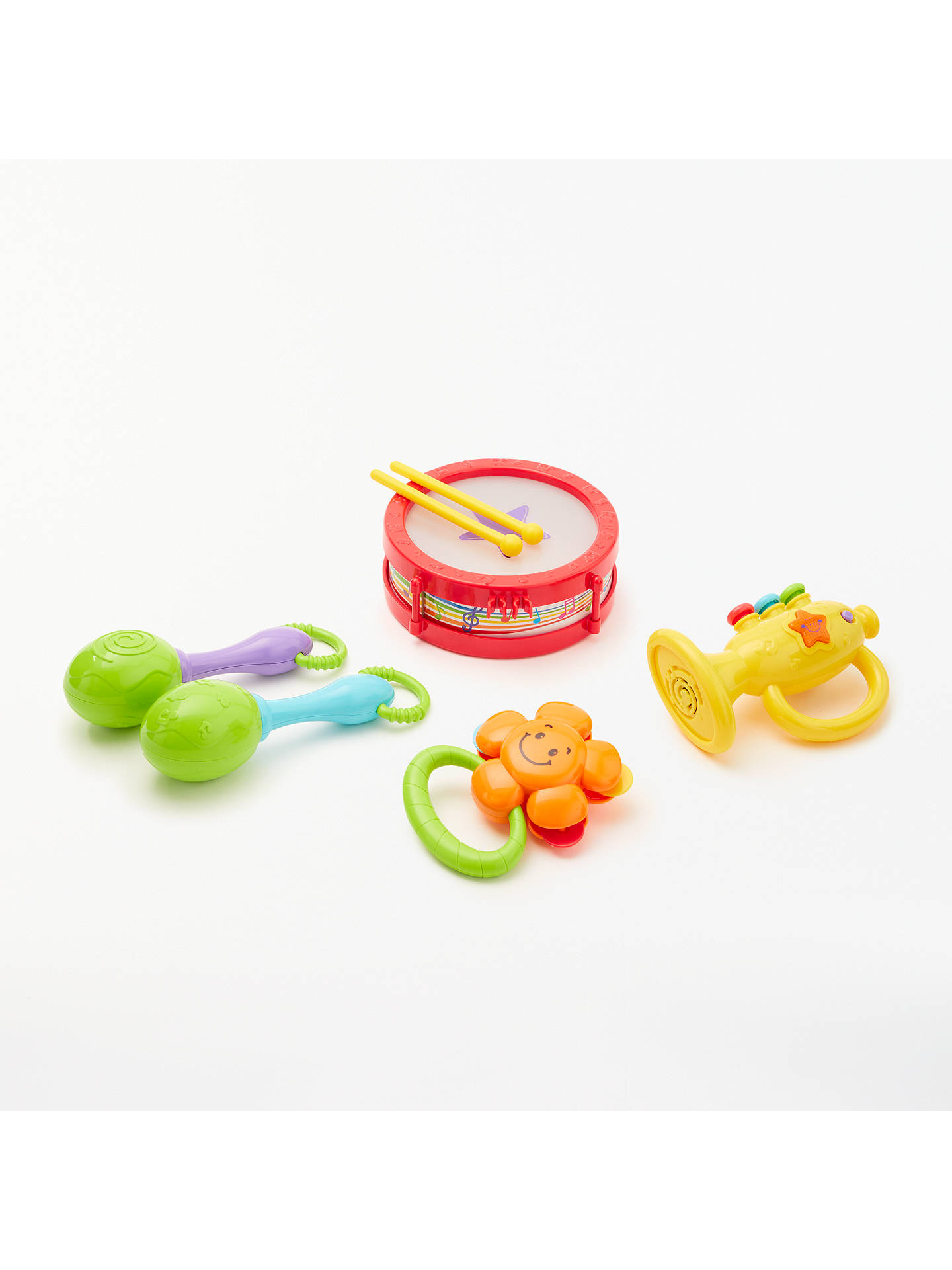 Buy John Lewis & Partners Children's First Band Set and Drum Online at johnlewis.com