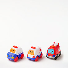 Buy John Lewis Emergency Vehicle Toy Cars, Pack of 3 Online at johnlewis.com