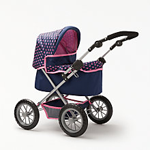 Buy John Lewis Baby Doll  Pram and Accessories, Medium Online at johnlewis.com