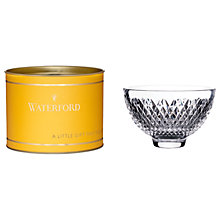 Buy Waterford Giftology Alana Crystal Bowl Online at johnlewis.com