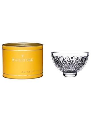 Waterford Giftology Alana Crystal Bowl