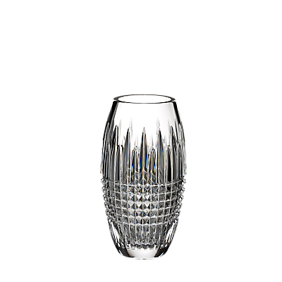 Waterford Lismore Diamond Encore Crystal Vase, 8