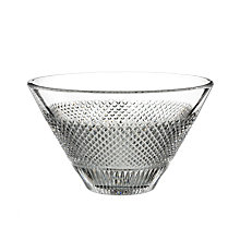 Buy Waterford Diamond Line Crystal Bowl Online at johnlewis.com