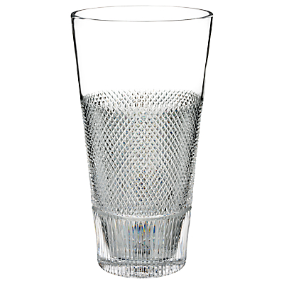 Waterford Diamond Line Crystal Vase, H30.5cm