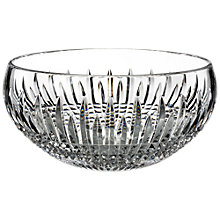 Buy Waterford Lismore Diamond Encore Bowl, Dia. 20.5cm Online at johnlewis.com