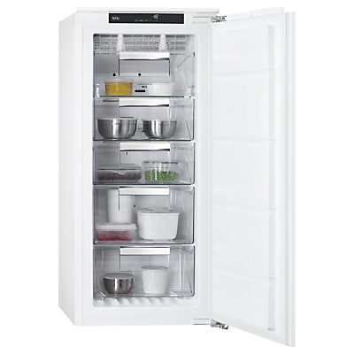 AEG ABB81216NF Integrated Freezer, A+ Energy Rating, 56cm Wide, White Review thumbnail