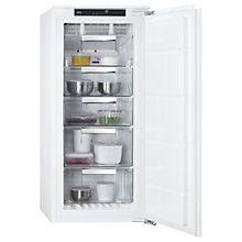 Buy AEG ABB81216NF Integrated Freezer, A+ Energy Rating, 56cm Wide, White Online at johnlewis.com