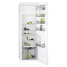 Buy AEG SFE81821DC Integrated Fridge, A++ Energy Rating, 54cm Wide, White Online at johnlewis.com