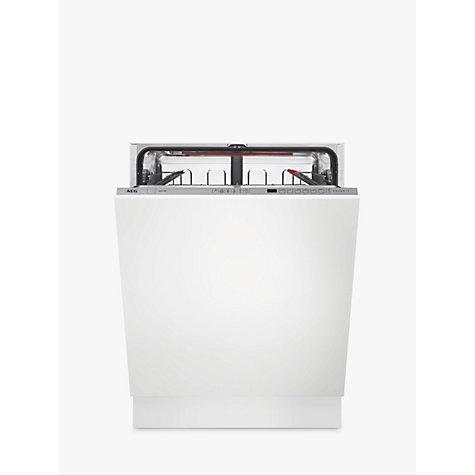 aeg fss62600p integrated dishwasher white