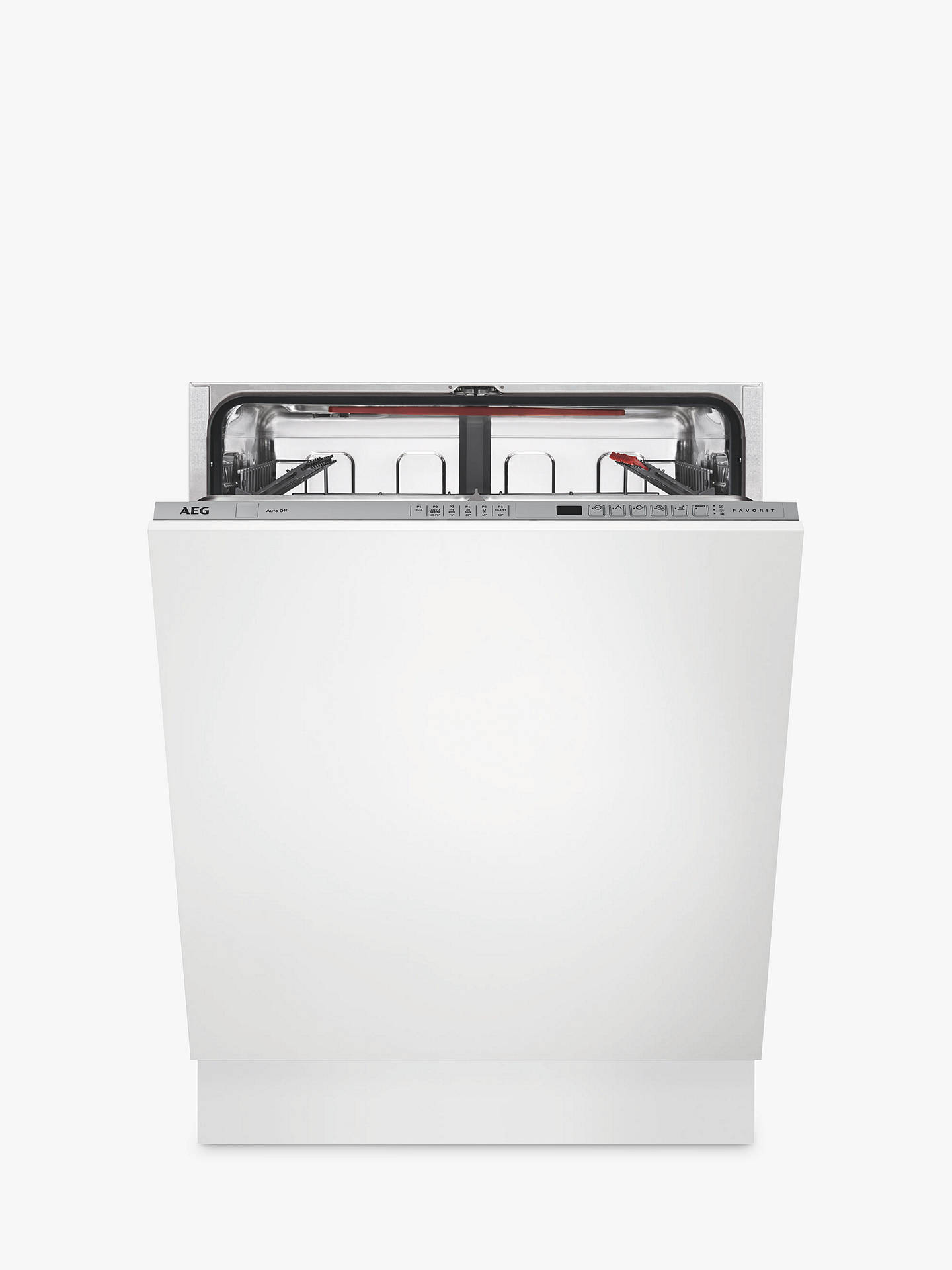 Buy AEG FSS62600P Integrated Dishwasher, White Online at johnlewis.com