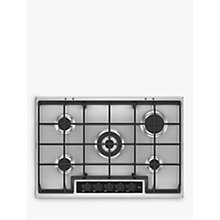 Buy AEG HG75SY5451 Gas Hob, Stainless Steel Online at johnlewis.com