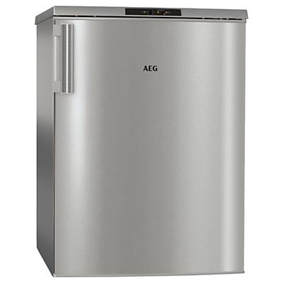 AEG ATB81011NX Freestanding Freezer, A+ Energy Rating, 59cm Wide, Silver