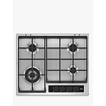 Buy AEG HG65SY4551 Gas Hob, Stainless Steel Online at johnlewis.com