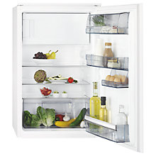 Buy AEG SFE68811AS Integrated Fridge, A++ Energy Rating, 54cm Wide Online at johnlewis.com