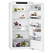 Buy AEG SKB81211AF Integrated Fridge, A+ Energy Rating, 56cm Wide, White Online at johnlewis.com