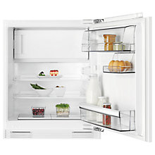 Buy AEG SFB58211AF Undercounter Fridge with Freezer Compartment, A+ Energy Rating, 60cm Wide Online at johnlewis.com