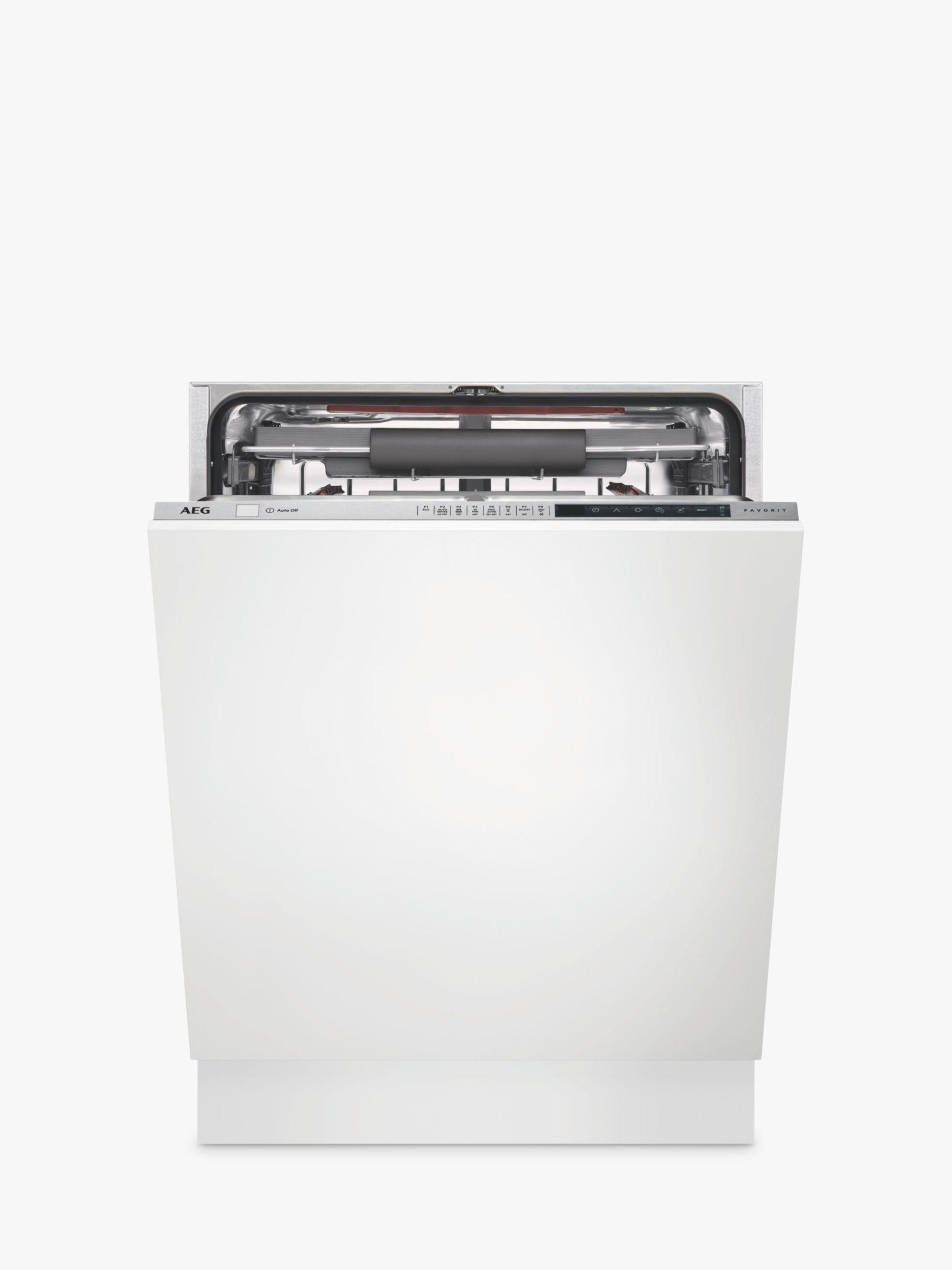 Aeg Fse83710p Integrated Dishwasher Stainless Steel At John Lewis